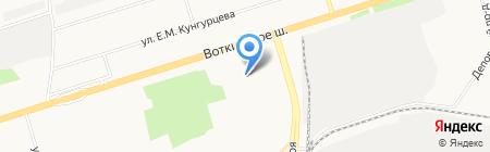 Центр трудовой реабилитации подростков на карте Ижевска