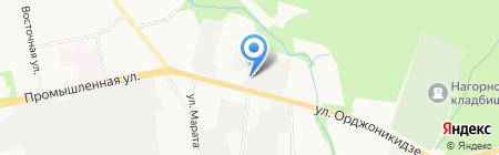СтройГрад на карте Ижевска