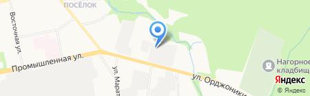 Люди в черном на карте Ижевска