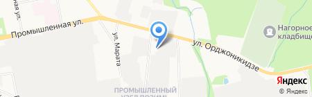 Гарант-Реги на карте Ижевска