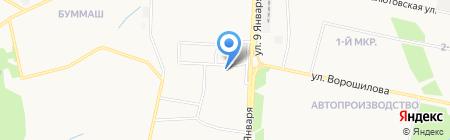 Магазин мелкой бытовой техники на карте Ижевска