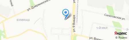 ПивоЗаправочнаяСтанция на карте Ижевска
