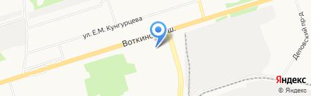 Центр эстетического воспитания детей на карте Ижевска