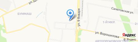 А-то на карте Ижевска