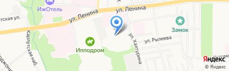 Строитель на карте Ижевска