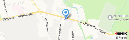 Ижевская специализированная клининговая компания на карте Ижевска