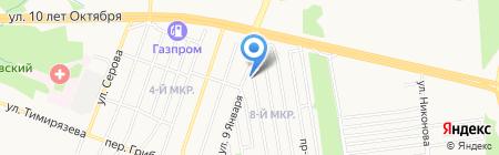 Ивановские бани на карте Ижевска