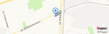 Былина на карте Ижевска