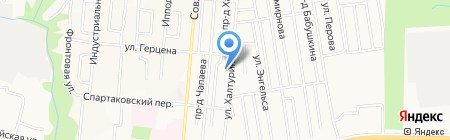 Лемаки на карте Ижевска