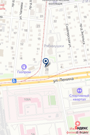 АВТОМАГАЗИН АВТОСТЕКЛО-ВИРАЖ-2 на карте Ижевска