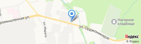 Апрель на карте Ижевска