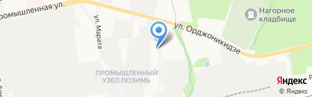 КласноДом на карте Ижевска