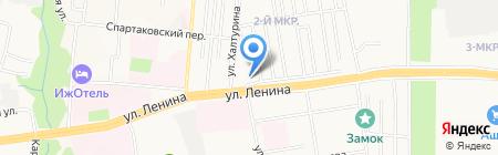 Доктор шин на карте Ижевска