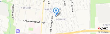 САИВ на карте Ижевска