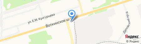 Удмуртгипроводхоз на карте Ижевска