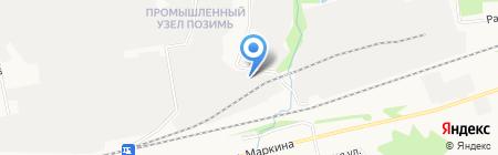 Промкраска на карте Ижевска