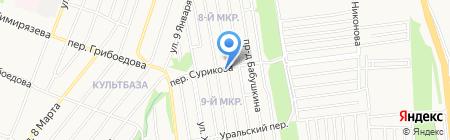 Пассажирские перевозки на карте Ижевска
