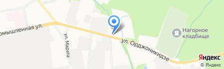Славянка на карте Ижевска