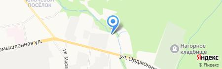 Студенческий кадровый центр на карте Ижевска