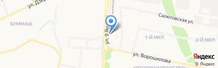 Рюмочная на карте Ижевска