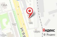 Схема проезда до компании Почта России в Ижевске