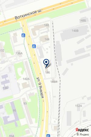АВК-РАЗВИТИЕ на карте Ижевска