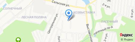 АКОС на карте Ижевска