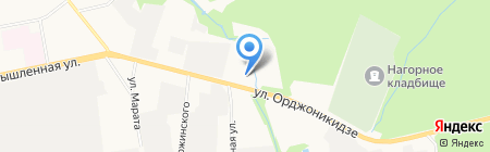 Артизиана на карте Ижевска