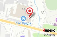 Схема проезда до компании Марс Дистрибьюшн в Ижевске