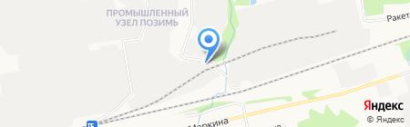 АрмТехСтрой на карте Ижевска