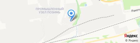 Ижевские лифты на карте Ижевска