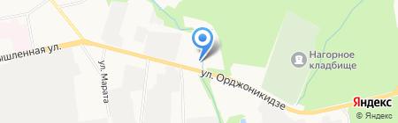 Торговая фирма на карте Ижевска