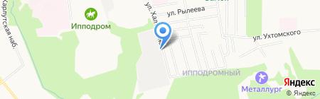 Первомайский-5 на карте Ижевска