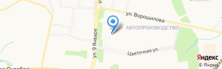 Гарант-2 на карте Ижевска
