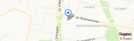 Гламур на карте Ижевска