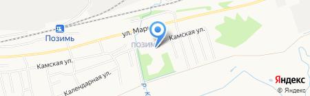 Средняя общеобразовательная школа №36 на карте Ижевска