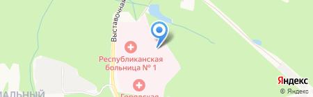 Перинатальный центр на карте Ижевска