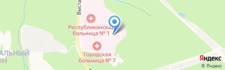 МУП Ритуал на карте Ижевска