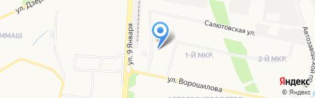 Регионэлектрокомплект на карте Ижевска