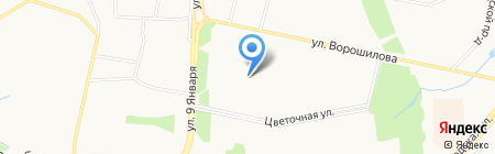 Библиотека им. Л.Н. Толстого на карте Ижевска
