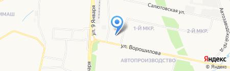 Прокуратура Устиновского района на карте Ижевска