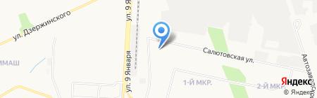 КТБ на карте Ижевска