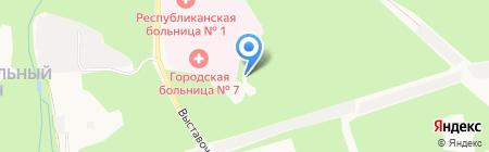 HolidayPark на карте Ижевска