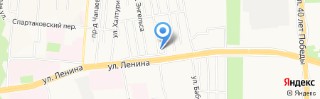 Зооцентр на карте Ижевска