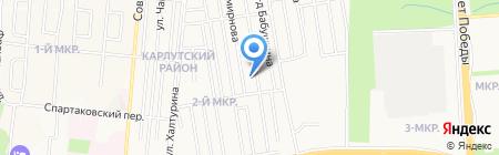 Тактика на карте Ижевска