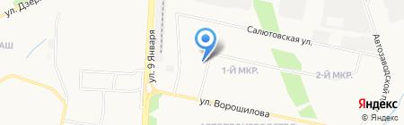 Детский сад №179 на карте Ижевска
