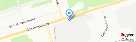 Инновационный дилер на карте Ижевска