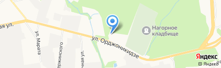 СДЮСШОР по велоспорту на карте Ижевска