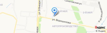 Суши на заказ на карте Ижевска