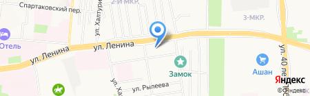 Алые паруса на карте Ижевска